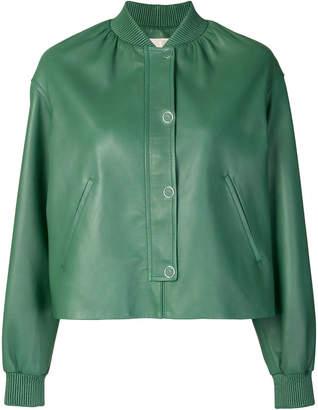 Yves Salomon bomber-style jacket
