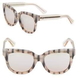 Gucci 53MM, Cat Eye Sunglasses Glasses