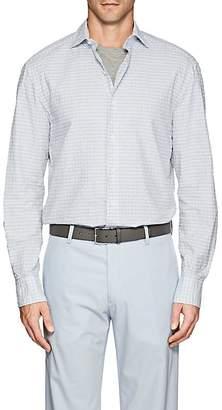 Barneys New York Men's Cotton Seersucker Shirt