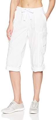 Calvin Klein Women's Crop Convertible Cargo Pant