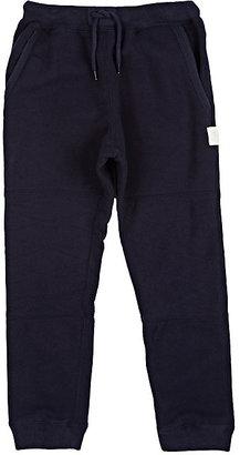 Scotch Shrunk Fleece Drawstring Pants-Navy $86 thestylecure.com