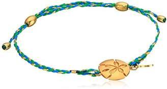 Alex and Ani Sand Dollar Expandable 14k Bracelet
