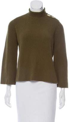 Marc Jacobs Rib Knit Bell Sleeve Sweater