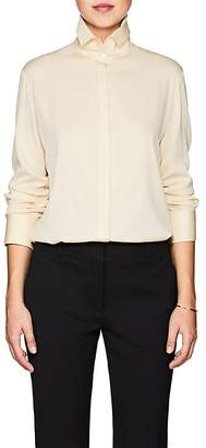 The Row Women's Betta Stretch-Silk Blouse