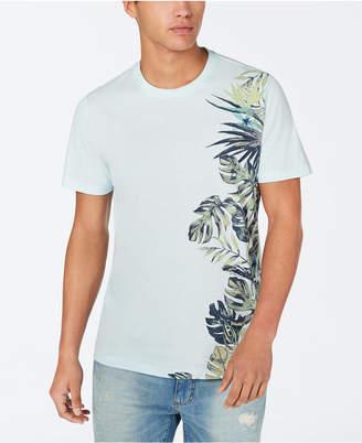American Rag Men Side Floral T-Shirt