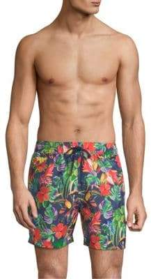Polo Ralph Lauren Toucan Floral Nylon Explorer Swim Shorts