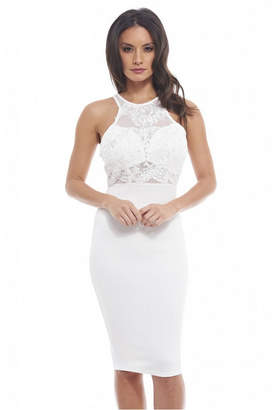 AX Paris Lace Top Midi Dress