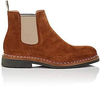 Heschung Men's Tremble Suede Chelsea Boots - Lt. brown