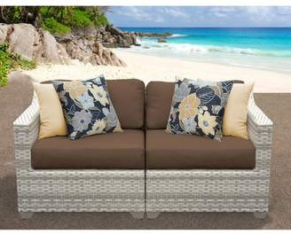 Rosecliff Heights Ansonia Patio Sofa with Cushions