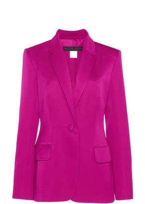 Martin Grant Single-Breasted Cotton-Silk Jacket Size: 34