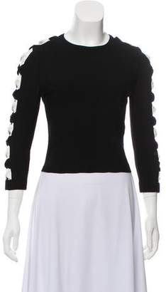 Alexander McQueen Lightweight Crew-Neck Sweater