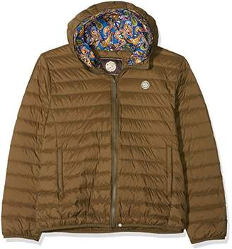 Pretty Green Men's Barker Jacket (Khaki)