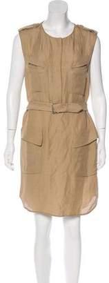3.1 Phillip Lim Linen-Blend Shift Dress