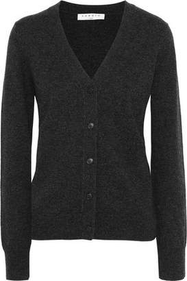 Sandro Ivana Mélange Wool And Cashmere-Blend Cardigan