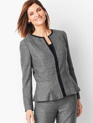 Talbots Italian Luxe Tweed Blazer