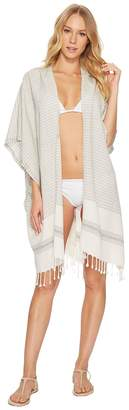 Hat Attack Beach Poncho Cover-Up Women's Swimwear