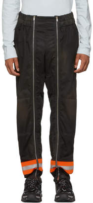 Calvin Klein Black Worker Trousers