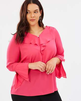 Evans Frill Front Top