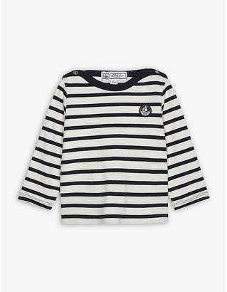 Petit Bateau Nautical stripe cotton top 3-24 months