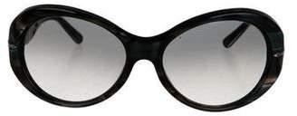 Persol Round Gradient Sunglasses
