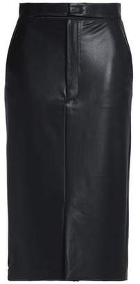 Joseph Faux Leather Skirt