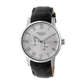 Heritor Unisex Black Strap Watch-Herhr6403