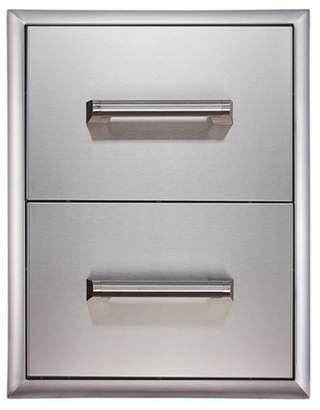 """EdgeStar E160DRAW2 16"""" Wide Double Storage Drawers"""