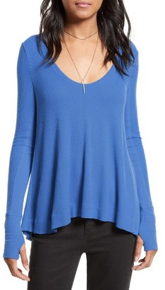 Women's Free People 'Malibu' Thermal Top $68 thestylecure.com