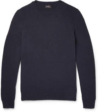 A.P.C. Pull Lagoon Cotton Sweater