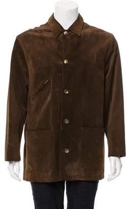 Hermes Suede Field Jacket