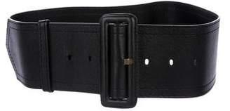 CNC Costume National Leather Waist Belt