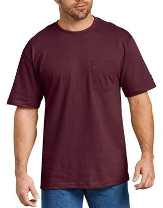 Dickies Men's Short Sleeve Heavy Weight Pocket T-Shirt, 2-Pack