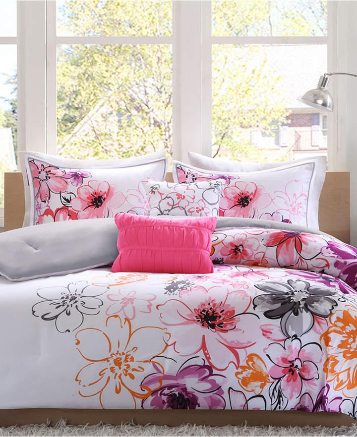 Intelligent Design Olivia 5-Pc. Reversible Full/Queen Comforter Set Bedding