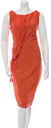 Vera Wang Silk Sleeveless Dress $85 thestylecure.com
