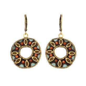 Michal Golan Jewelry Earth Open Circle Earrings