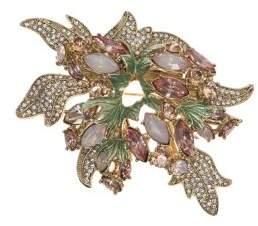 Anne Klein Goldtone Cluster Brooch