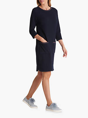 Betty Barclay Textured Dress, Mood Blue