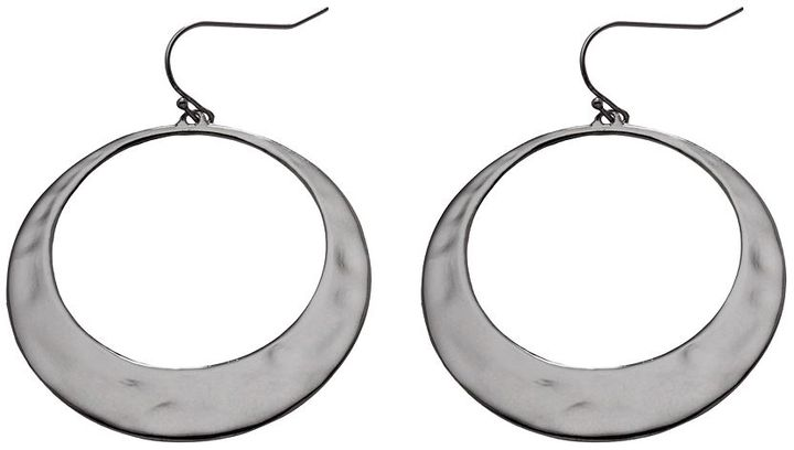 Daisy fuentes ® hoop drop earrings