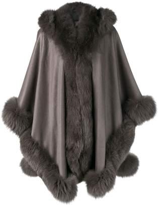 Liska oversized hooded coat