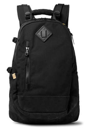 Visvim Suede-Trimmed Cordura Nylon Backpack