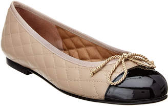 French Sole Roberts Leather Flat