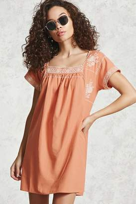Forever 21 Contemporary Peasant Dress