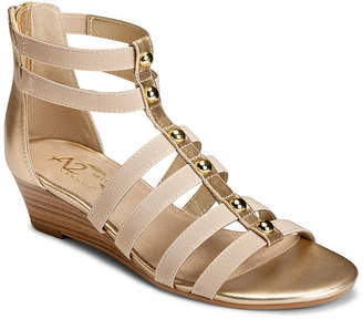 Aerosoles A2 BY A2 by Here We Go Womens Gladiator Sandals