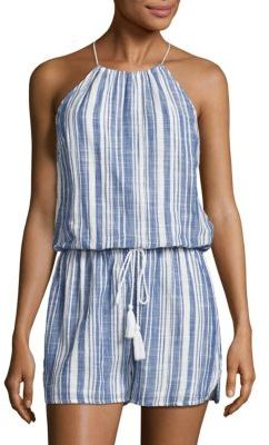 Vineyard Vines Sailing Striped Romper $108 thestylecure.com