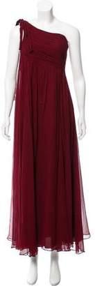 Robert Rodriguez Olympia One-Shoulder Dress