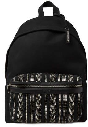 Saint Laurent Ikat Pocket City Backpack