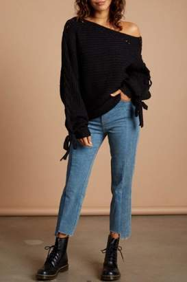 Cotton Candy Boatneck Sweater