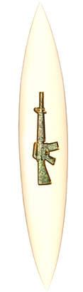 Bessell Guns for Money Art Surfboard