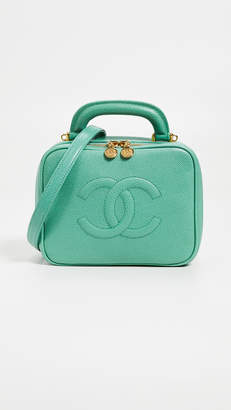Chanel What Goes Around Comes Around Lunch Box Vanity Bag