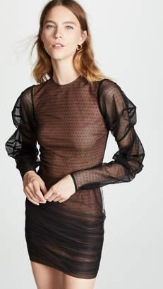 EWA Herzog Mesh Dot Mini Dress